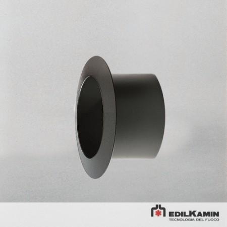 Rozeta fixa perete D15 negru