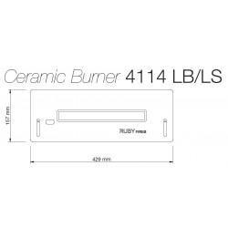 Arzator ceramic 4114 LB