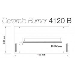 Arzator ceramic 4120 B