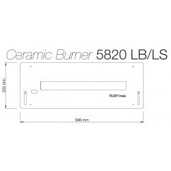 Arzator ceramic 5820 LB