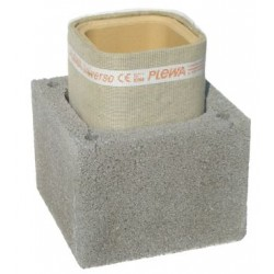 Cos de fum Isofix IP 14, d=16cm, racord 45, H=9ml