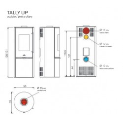 Tally Up Pietra Ollare 8 kw