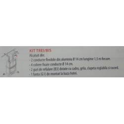 Kit 3 bis aluminiu