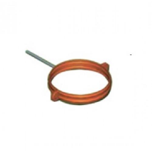 Colier fixare cos exterior cupru D8 cm