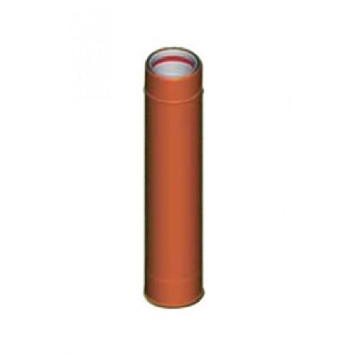 Tubulatura cos exterior aluminiu maro D8 cm, L25 cm