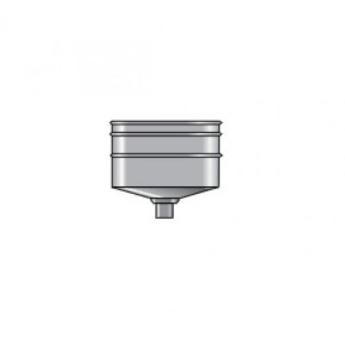 Oala condens cos exterior aluminiu maro D8 cm