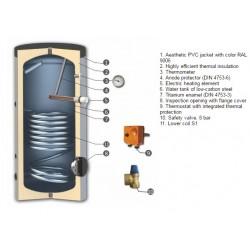 Boiler SN V/S1 500 RZ 7,5 KW