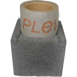Cos de fum PLEWA R20, d=20 cm, racord 45°, H=9.5ml