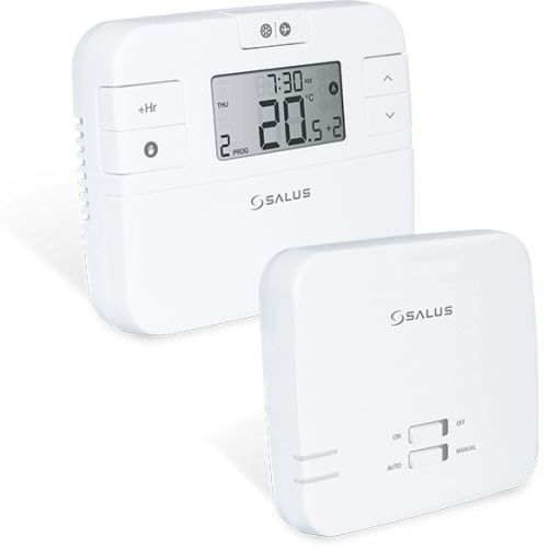 Termostat ambiental programabil cu radio comandă - RT510RF