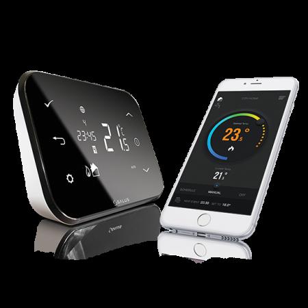 Termostat wireless  iT500 comandat prin Internet
