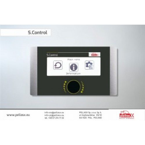 PANOU DE COMANDA S.CONTROL